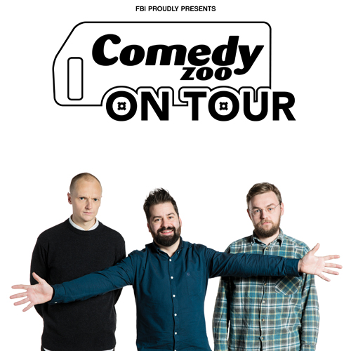 Comedy ZOO on Tour: Grau, Rask & Mogensen