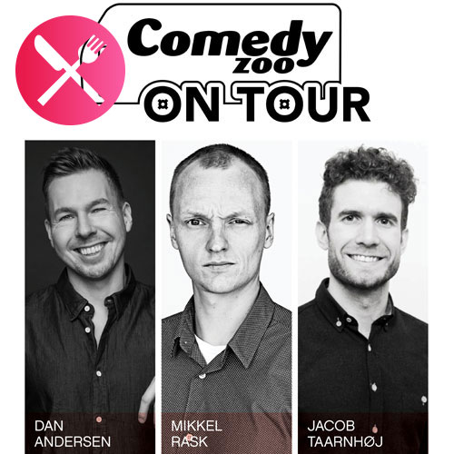 Comedy Zoo on Tour: Andersen, Rask & Taarnhøj