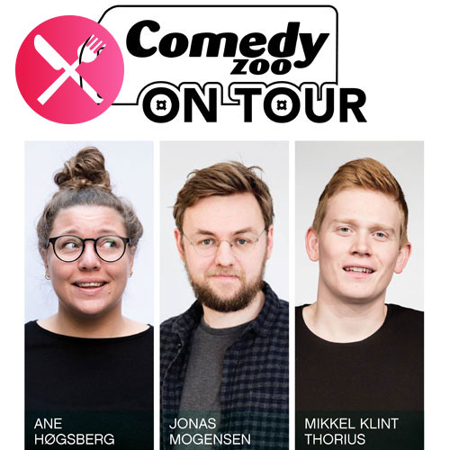 Comedy Zoo on Tour: Høgsberg, Mogensen & Thorius