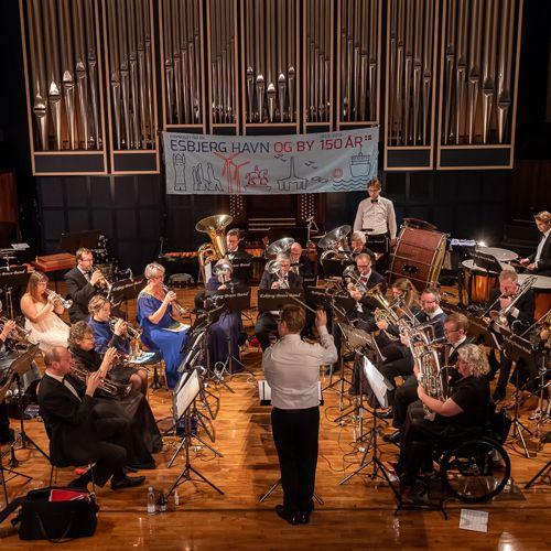 Foyerkoncert med Esbjerg Brass Band