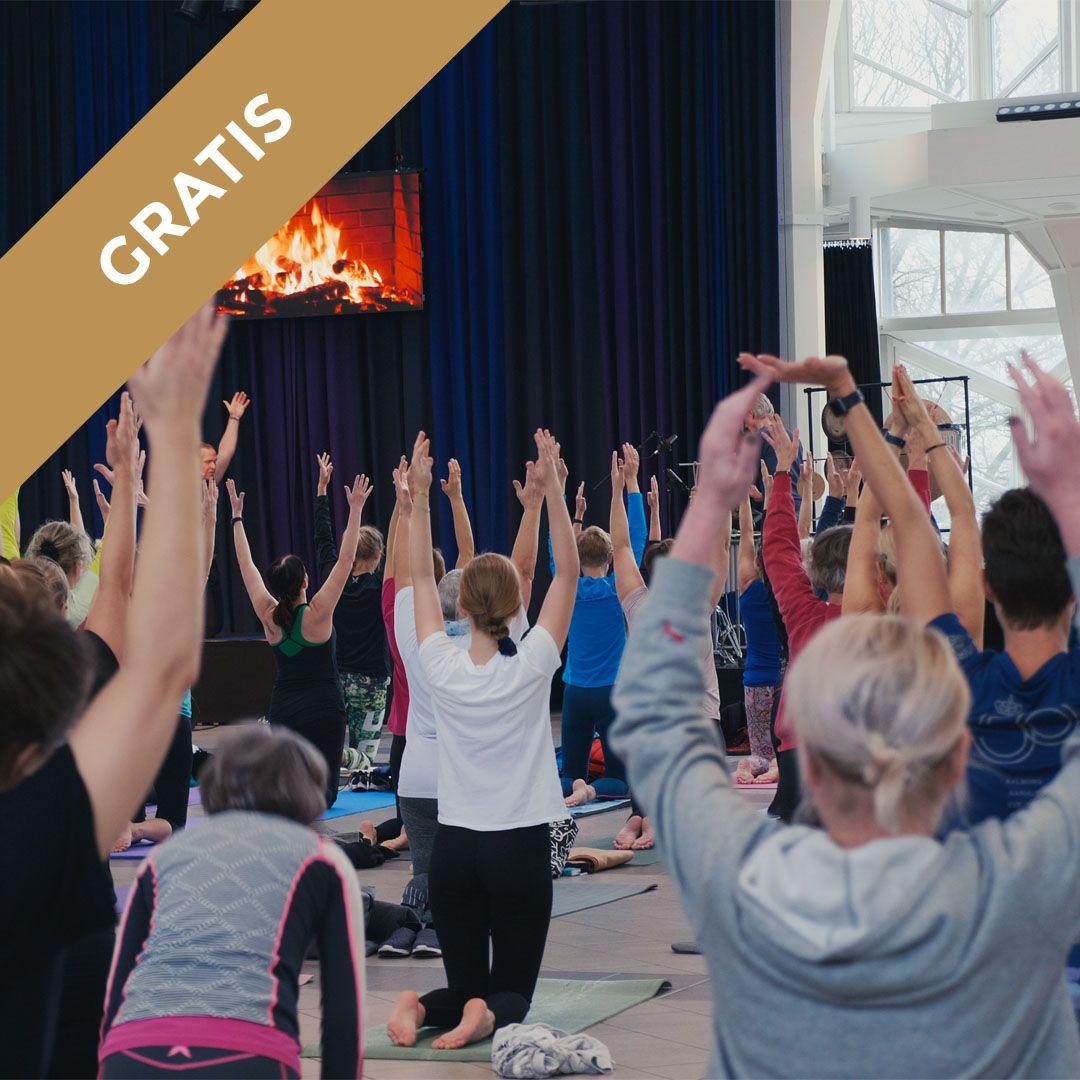 Yoga med livemusik