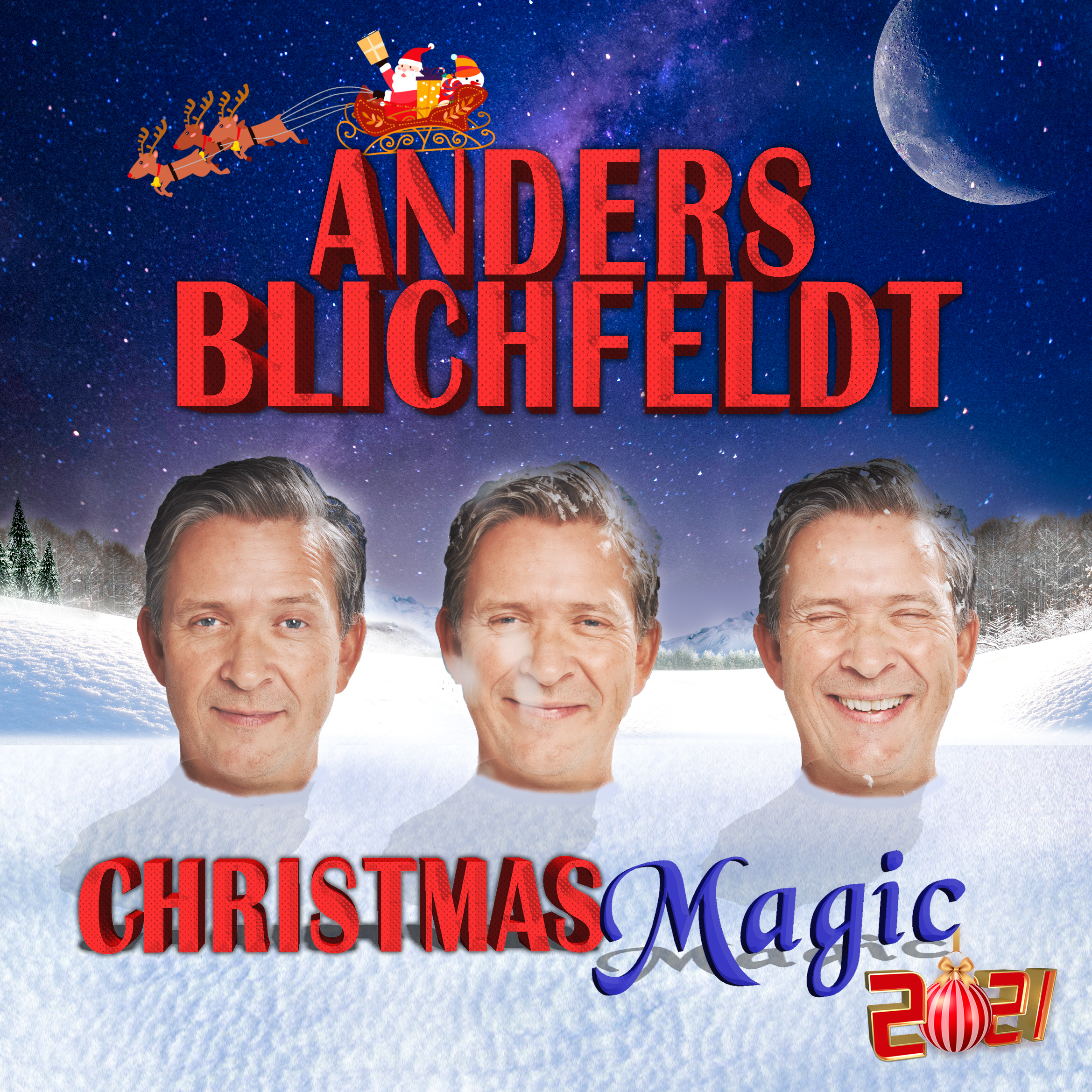 Anders Blichfeldt - Christmas Magic